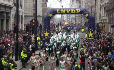 Noworoczna parada w Londynie
