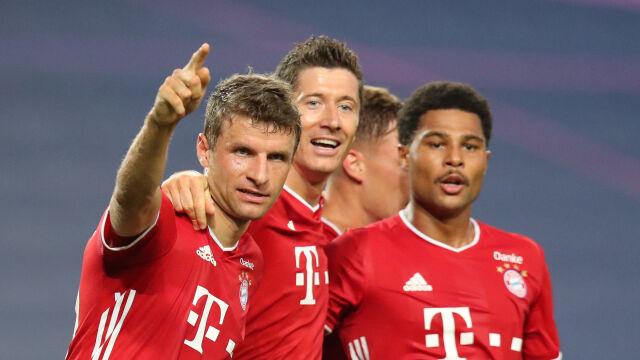 Lewandowski przypieczętował sukces Bayernu. Zagra w finale Ligi Mistrzów
