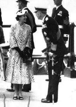 Z Królem Gustawem, R1954.jpg