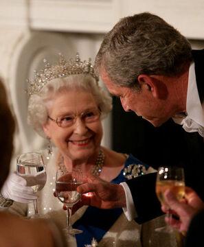 Toast z Georgem W. Bushem, 2007