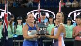 Babos i Mladenovic odebrały trofeum za wygraną w rywalizacji deblowej w Australian Open