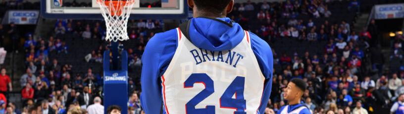 Zagrał z numerem Bryanta. Wcześniej był telefon z prośbąo pozwolenie