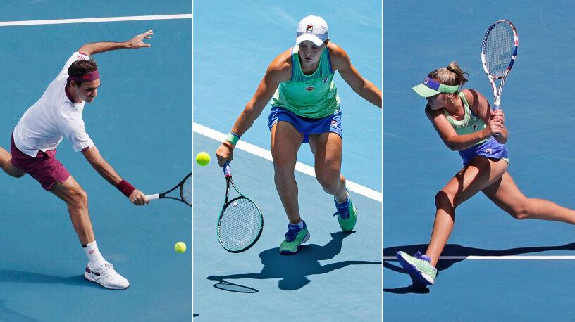 Dominacja skrótów i lobów, królował Federer. Top 5 ćwierćfinałów Australian Open