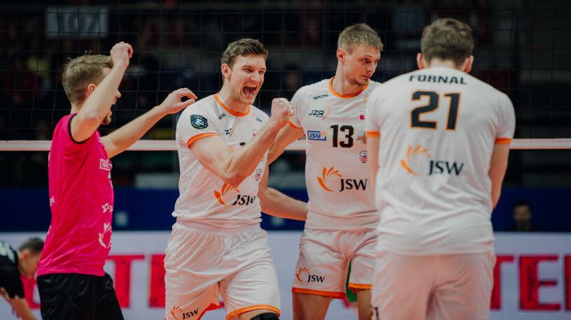 Jastrzębski Węgiel z kolejnym zwycięstwem w Lidze Mistrzów