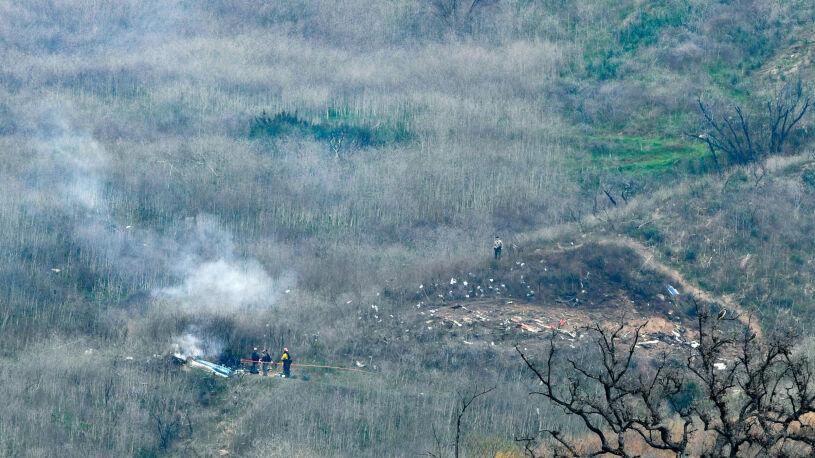 Media: Helikopter szybko tracił wysokość. Pilot chciał wznieść go ponad chmury