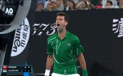 Djoković wygrał drugiego seta w półfinale Australian Open