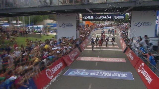Barbier wygrał 1. etap Vuelta a San Juan