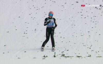 Skok Dawida Kubackiego z kwalifikacji w Garmisch-Partenkirchen