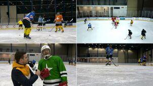 Hokejowe starcie gwiazd. Znani zagrają na lodzie dla WOŚP