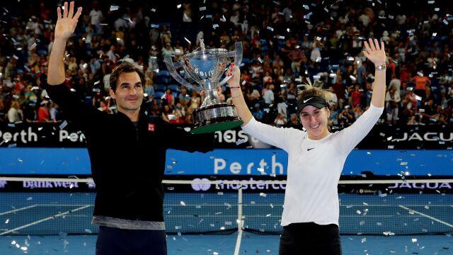 Federer poprowadził kadrę. Drugi z rzędu triumf Szwajcarii w Pucharze Hopmana