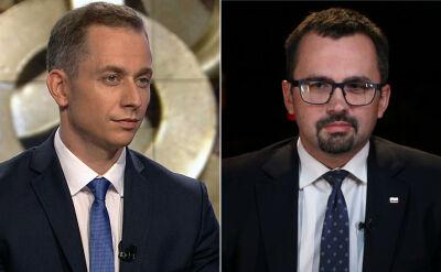 """Cezary Tomczyk i Marcin Horała byli goścmi """"Faktów po Faktach"""""""
