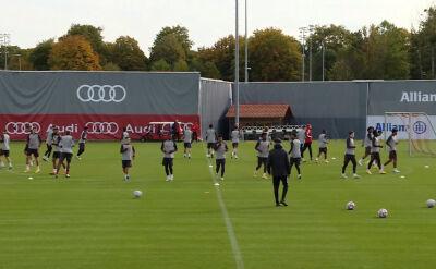 Trening Bayernu przed rozpoczęciem fazy grupowej Ligi Mistrzów