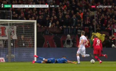 Diaby dobił Union, Bayer awansował do półfinału Pucharu Niemiec