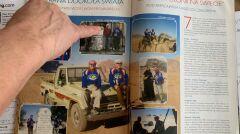 """Pierwszą podróż Ryszarda dookoła świata opisywało czasopismo """"Dookoła Świata"""" - mężczyzna w każdym z krajów starał się odnaleźć innych Polaków"""