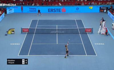 Rublow awansował do półfinału turnieju ATP w Wiedniu