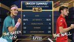 Tsitsipas pokonał Goffina w Ultimate Tennis Showdown