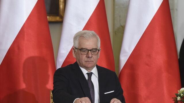 Czaputowicz ministrem spraw zagranicznych
