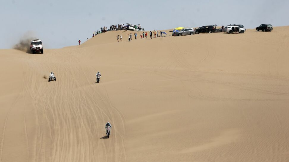 Awaria motocykla. Polak musiał się wycofać z Dakaru