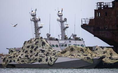 Rosja zwróciła okręty przejęte w Cieśninie Kerczeńskiej