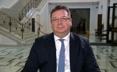 Wiceminister sprawiedliwości Michał Wójcik o wyroku TSUE