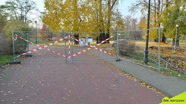 Park wynajęty na komercyjny festiwal. Mieszkańcy będą mogli wrócić w lutym