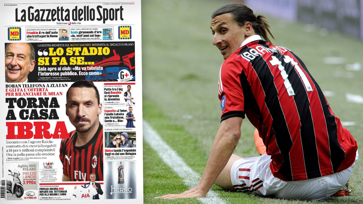 Ibrahimović może zagrać u boku Piątka