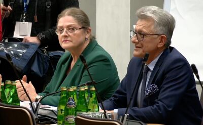 Stanisław Piotrowicz nie odpowiadał na pytania członków komisji