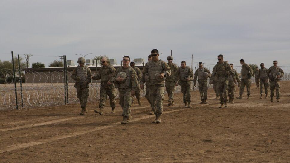 USA wzmacniają siły na granicy z Meksykiem. Wysłano kolejnych 3750 żołnierzy