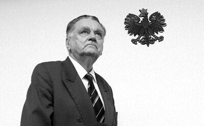 Wicemarszałek Senatu Bogdan Borusewicz wspomina Jana Olszewskiego