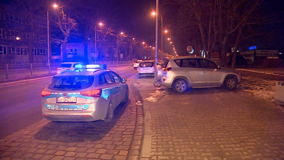 Uciekając przed policją uszkodził cztery auta. Kierowca zatrzymany po kilkunastu godzinach