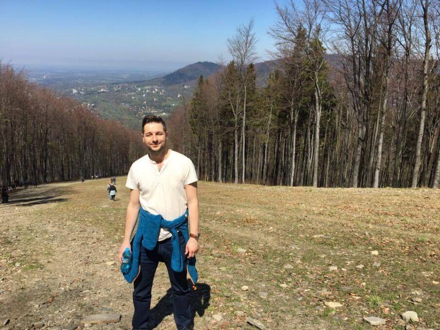 Magazyn   Patryk Jaki w górach, wrzesień 2017 r.