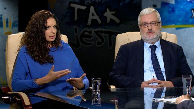 """Zuzanna Radzik i Marcin Przeciszewski w """"Tak Jest"""""""