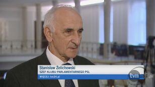 Żelichowski tłumaczy, dlaczego klub PSL nie zagłosował po myśli PO
