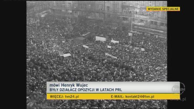 Wujec: On dawał nadzieję (TVN24)
