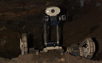 Roboty w tunelach Hamasu