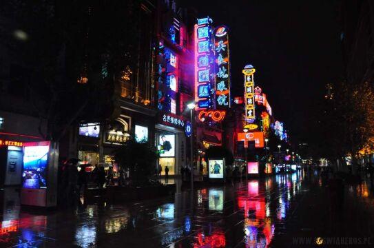 Nanjing Road w Szanghaju