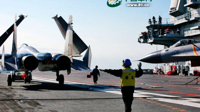 CNS Liaoning - pierwszy chiński lotniskowiec w gotowości