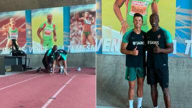 Ronaldo dąży do perfekcji. Trenował z wicemistrzem olimpijskim w sprincie