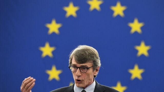 David Sassoli szefem Parlamentu Europejskiego. Całe przemówienie