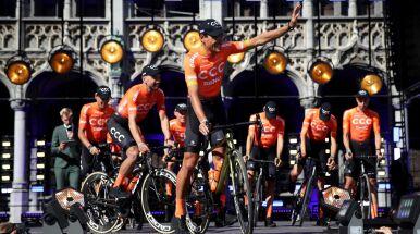 Ambitne cele polskiej grupy CCC na Tour de France. Żółta koszulka dla lidera