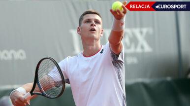 Hubert Hurkacz ograł w pierwszej rundzie Wimbledonu Dusana Lajovicia (RELACJA)