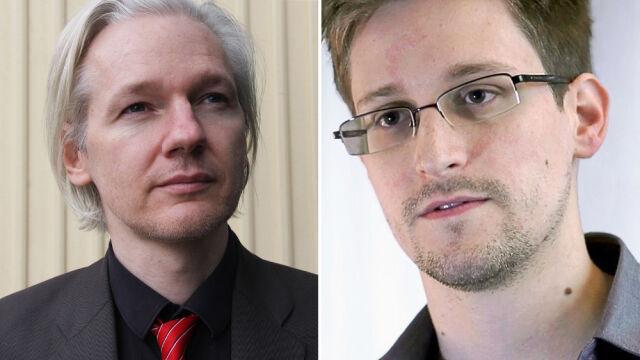 "Zemsta na ""bliskim sojuszniku""? Francja rozważa azyle dla Snowdena i Assange'a"