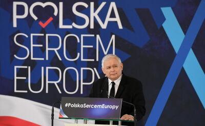 Kaczyński: będzie łamanie demokracji, ale także ofensywa lewactwa