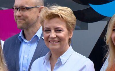 Hanna Zdanowska, prawomocnie skazana prezydent walczy o reelekcję w Łodzi