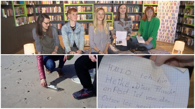 Pięć bibliotekarek szukało nad Bałtykiem pradawnego lasu. Znalazły list w butelce
