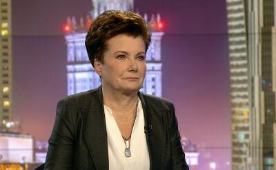 """Hanna Gronkiewicz-Waltz w """"Fakty po Faktach"""" TVN24"""