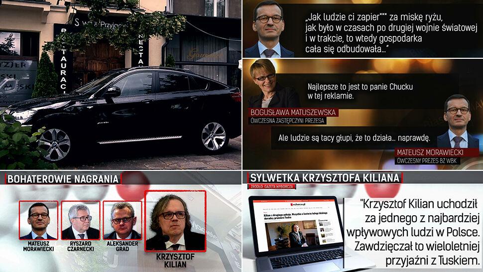 Jeden z najbardziej wpływowych ludzi w Polsce, przyjaciel Tuska. Nagrany z Morawieckim