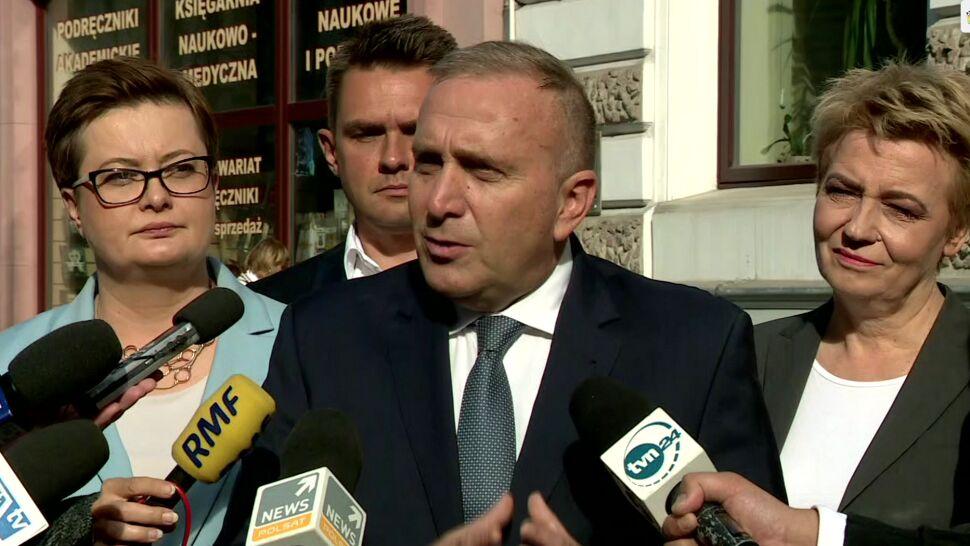 Schetyna do polityków PiS: ręce precz od Łodzi