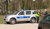 Policja w stadninie koni w Janowie