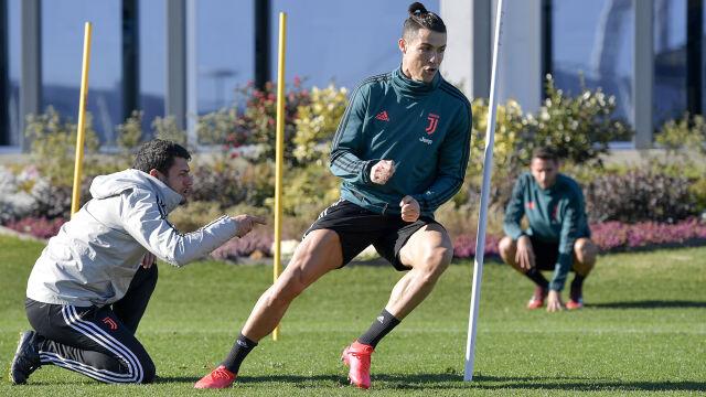 """Niesamowity trening Ronaldo w dniu 35. urodzin, kibice w szoku. """"Kręci się w głowie"""""""